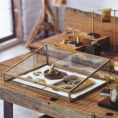 jewelry display supplies brass plated glass jewelry