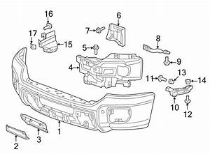 Chevrolet Silverado 2500 Hd Bumper Guide Bracket  Gmc