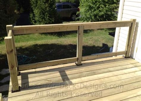 deck railing spacing between posts building wooden railings installing wood deck railing