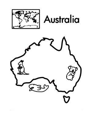 asia world map coloring page  printable coloring
