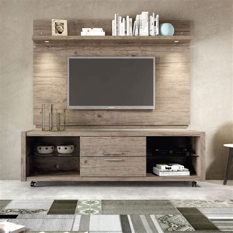 Tv Paneel Wand by Manhattan Comfort Park Nature Tv Panel With Led Lights In