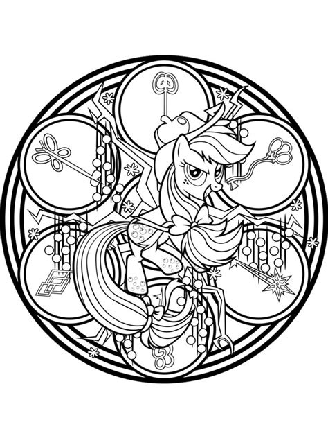 pony coloring pages   print