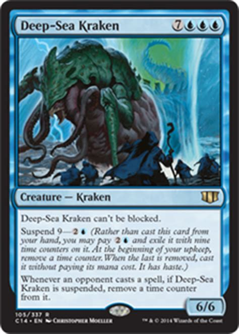Mtg Blue Green Kraken Deck by Card Search Search Kraken Kraken Gatherer Magic