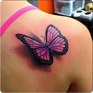 52+ 3D Butterfly Tattoos