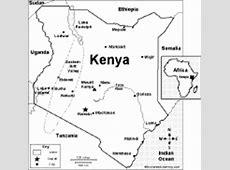 Kenya Map Quiz Worksheet EnchantedLearningcom