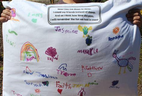 24 adorable preschool graduation ceremony ideas shutterfly 190   preschool graduation ceremony end of the year signed pillow