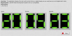 Displaying Digital Clock Using Labview - Ni Community