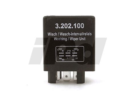 volvo intermittent wiper relay