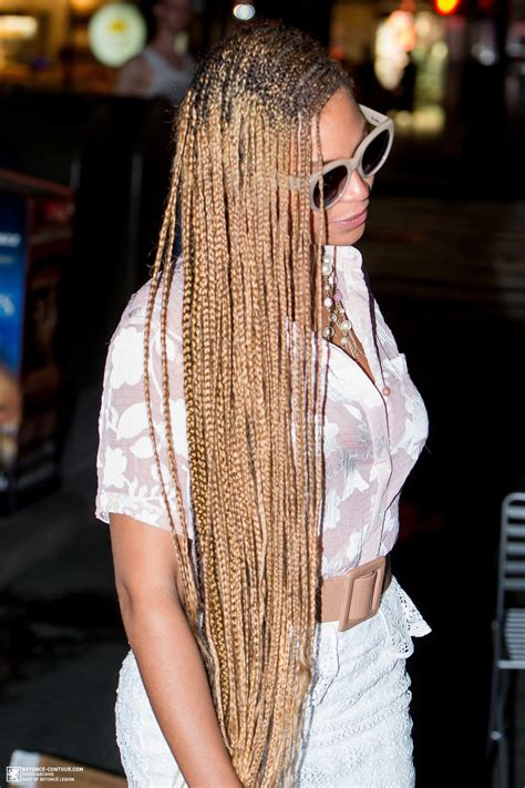 beyonce  nyc  beyonce braids braided