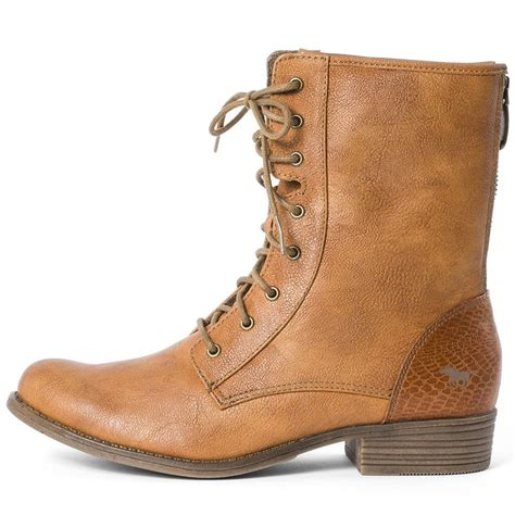 light brown boots mustang 1167507 womens boots in light brown