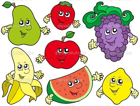 Image result for cartoon fruit