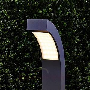 Luminaire Exterieur D Angle : luminaire d 39 ext rieur la borne lumineuse design est la ~ Edinachiropracticcenter.com Idées de Décoration