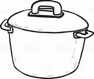 pot clipart black and white | Clipart Station
