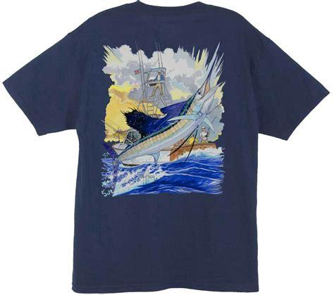 Sailfish Boats Shirts by Harvey Sailfish Boat Back Print T Shirt