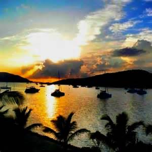 British Virgin Islands Sunset