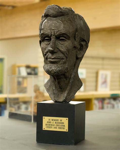 abraham lincoln bust hennepin county