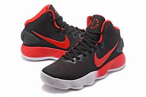 Nike Hyperdunk 2017 Mid Black Red White with Gradient ...