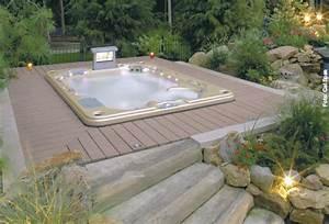 jacuzzi fur den garten die neueste innovation der With französischer balkon mit pool im garten einbauen