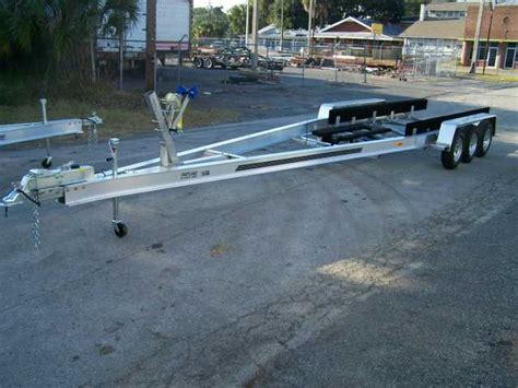 Used Boat Trailer Tri Axle by Boat Trailers For Sale Tri Axle Alum Boat Ta