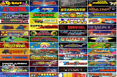 The Internet Arcade 900 Browser Playable Video Games