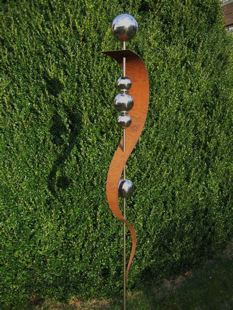 Gartendeko Edelrost by Gartendeko Deko Gartenstecker Stecker Rost Edelrost