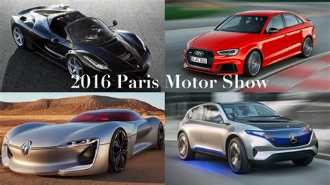 A Quick(ish) Round Up Of The 2016 Paris Motor Show Drive