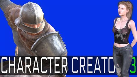 character creator  easy  powerful game character