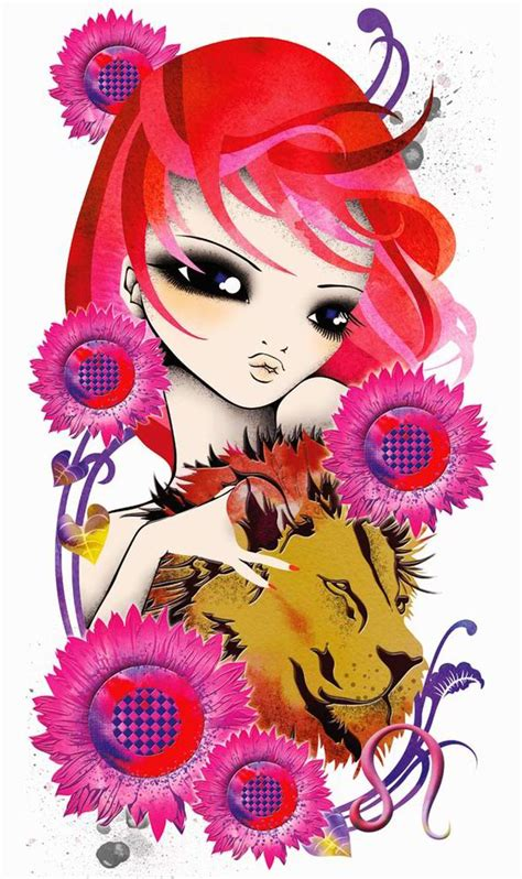cute astrology art star sign style