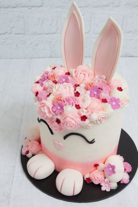 inspiration cute easter bunny cake
