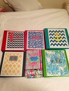 DIY Lilly calculator and binder covers | Get crafty ...