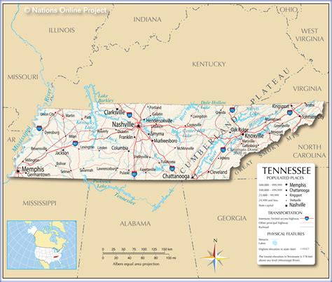 maps  memphis tennessee  travel information