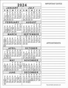 Free Printable Calendar 2020 Templates 2024 Calendar Templates Free Printable Calendars