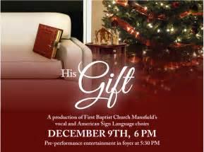 Church Christmas Program Flyer