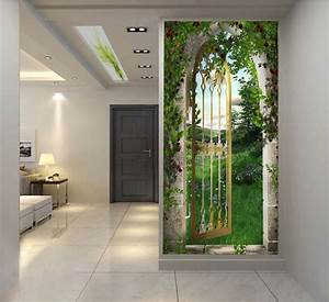 Garden Gate wallpaper Self Adhesive