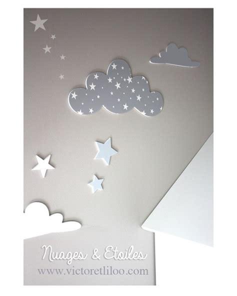 chambre bébé etoile deco chambre bebe nuage
