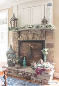 Autumn, Mantels, Decorated, To, Make, You, Linger, Longer