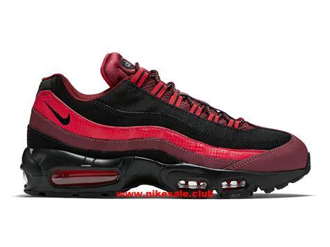 Chaussures Nike Air Max 95 Prix Homme Pas Cher Noir/rouge