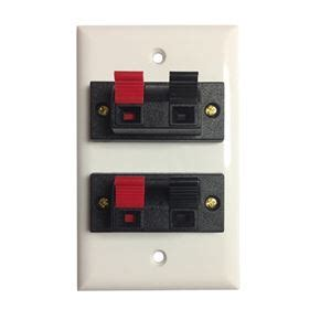Philips Speaker Wall Plate Position Terminal