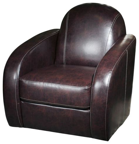 stetson low profile swivel chair transitional