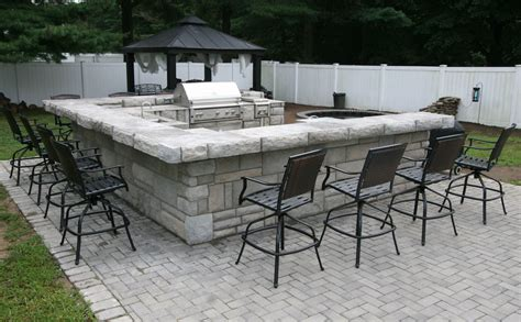 Ushaped Outdoor Bar Designs  Video And Photos