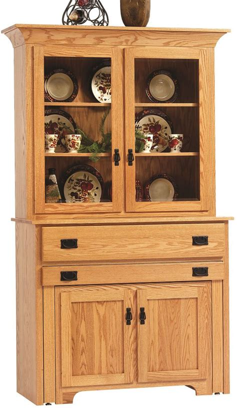 hutch with pull out table flintt pullout console table with hutch countryside