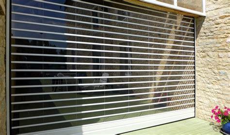 porte de garage rideau transparence by javey rideau de protection 224 lames transparentes incassables fabriqu 233 sur