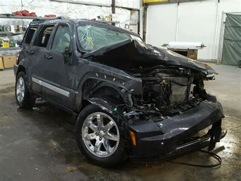 crashed jeep liberty salvage 2010 jeep liberty limited subway truck parts