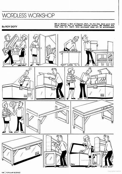 Comic Strip Industrial Strips Wordless Based Thing