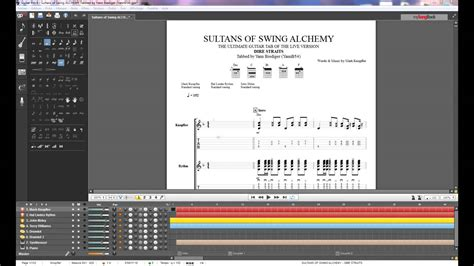 Sultans Of Swing Guitar Pro by 3 Ultimate Tab Dire Straits Alchemy Sultans Of Swing