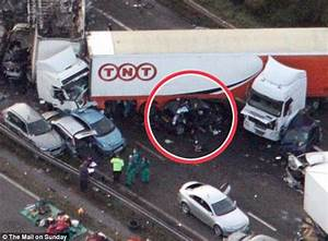 From the wreckage of the M5 crash, a little miracle for ...