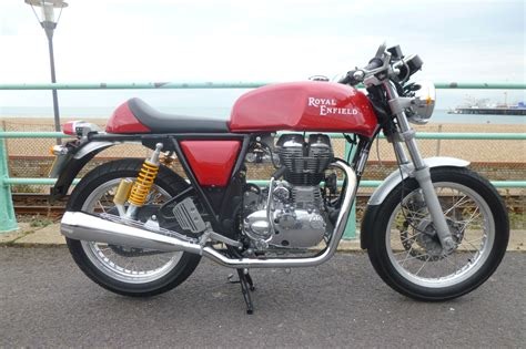 Review Royal Enfield Continental Gt by Ride Royal Enfield Continental Gt Visordown