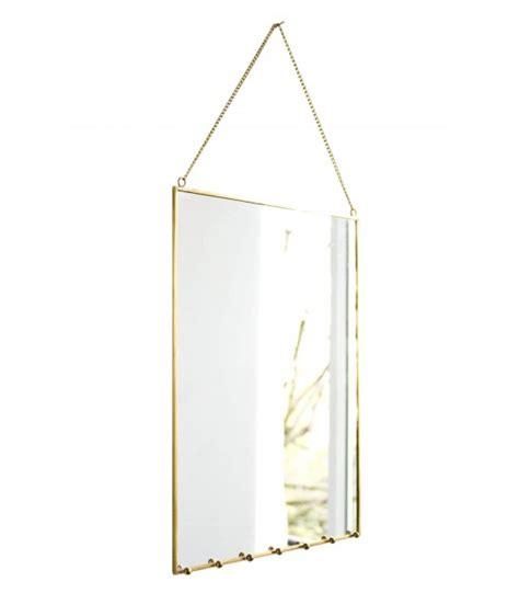 miroir de porte a suspendre miroir mural porte bijoux en laiton 224 suspendre wadiga