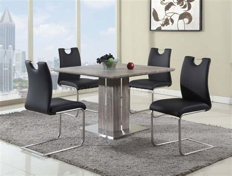 dining 5pc in grey wash by chintaly