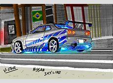 Nissan SkylineBY Victor Desenho de victor2292 Gartic